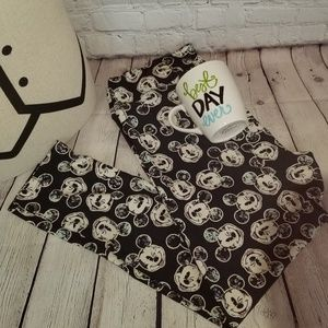 LuLaRoe B&W  Mickey Mouse Leggings TC2